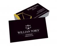depoimento positivo de Willian sobre cartão de visita online