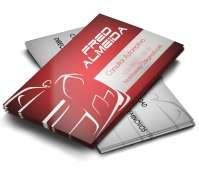 depoimento positivo de Fred sobre cartão de visita online
