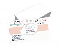 depoimento positivo de Silvia sobre cartão de visita online
