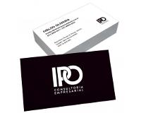 depoimento positivo de IPO sobre cartão de visita online
