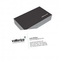 depoimento positivo de VALLORIZA sobre cartão de visita online