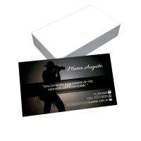 depoimento positivo de Marco sobre cartão de visita online