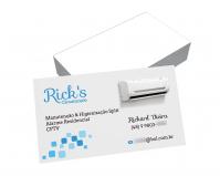 depoimento positivo de Richard sobre cartão de visita online