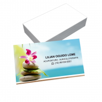 depoimento positivo de Lilian sobre cartão de visita online