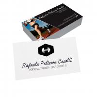 depoimento positivo de Rafaela sobre cartão de visita online
