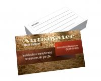 depoimento positivo de Altair sobre cartão de visita online